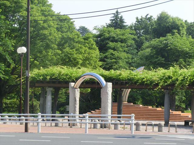 大泉中央公園メインの入口